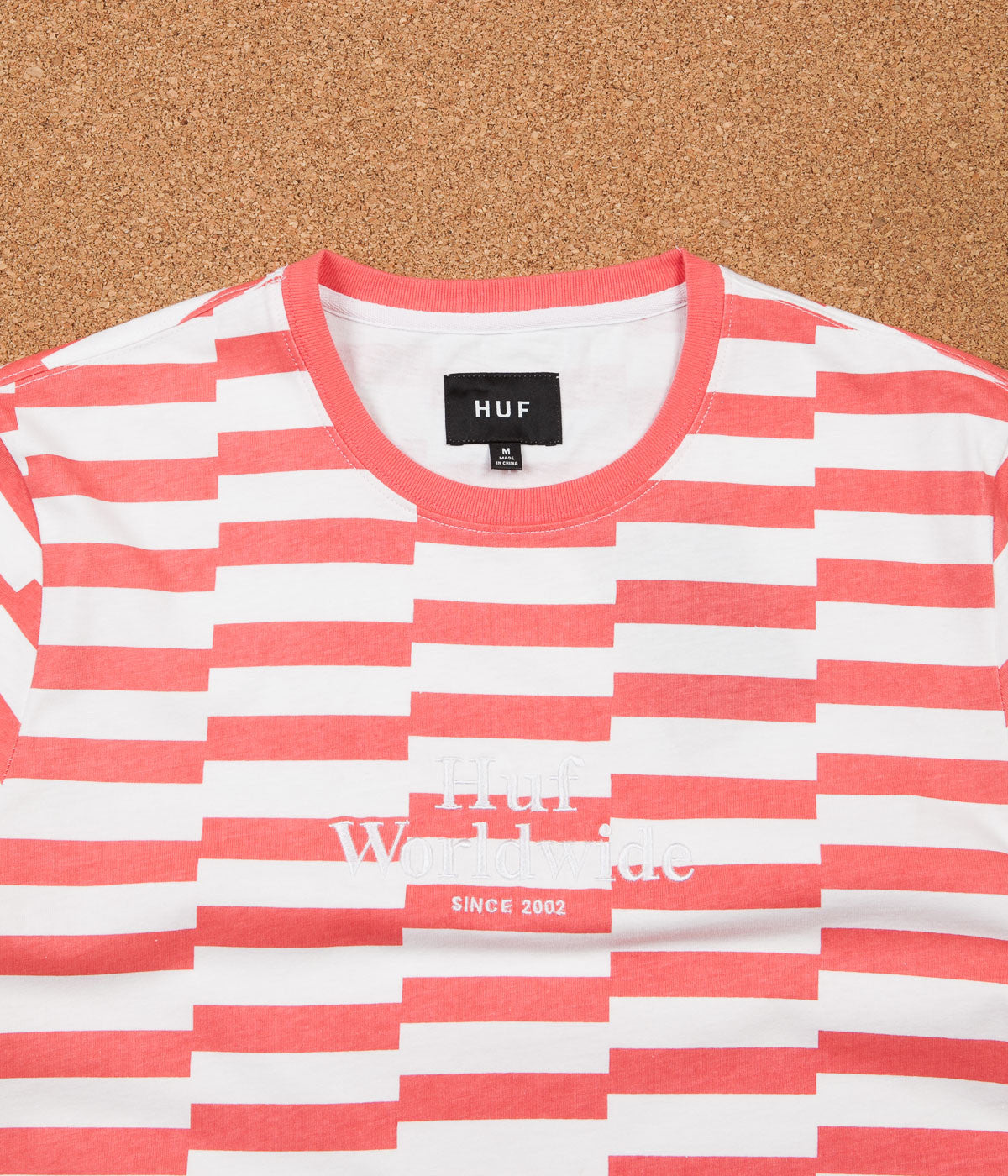 HUF Off Set T-Shirt - Salmon
