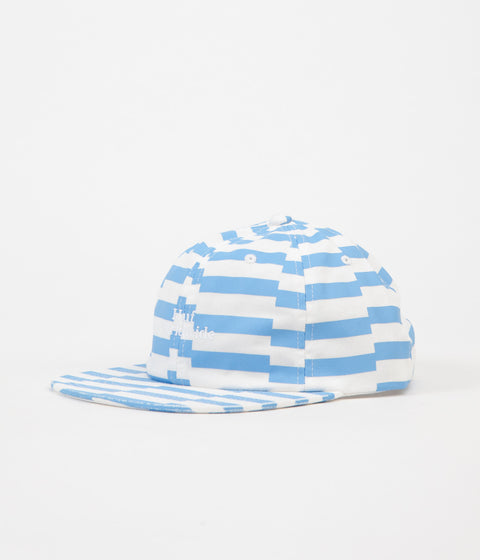 HUF Offset Stripe 6 Panel Cap - Light Blue