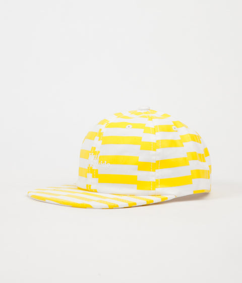 HUF Offset Stripe 6 Panel Cap - Yellow