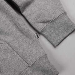 HUF Original Logo Hooded Sweatshirt - Grey Heather / Green
