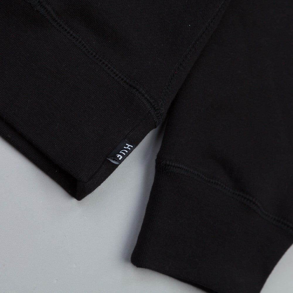 HUF Original Pullover Hooded Sweatshirt Black