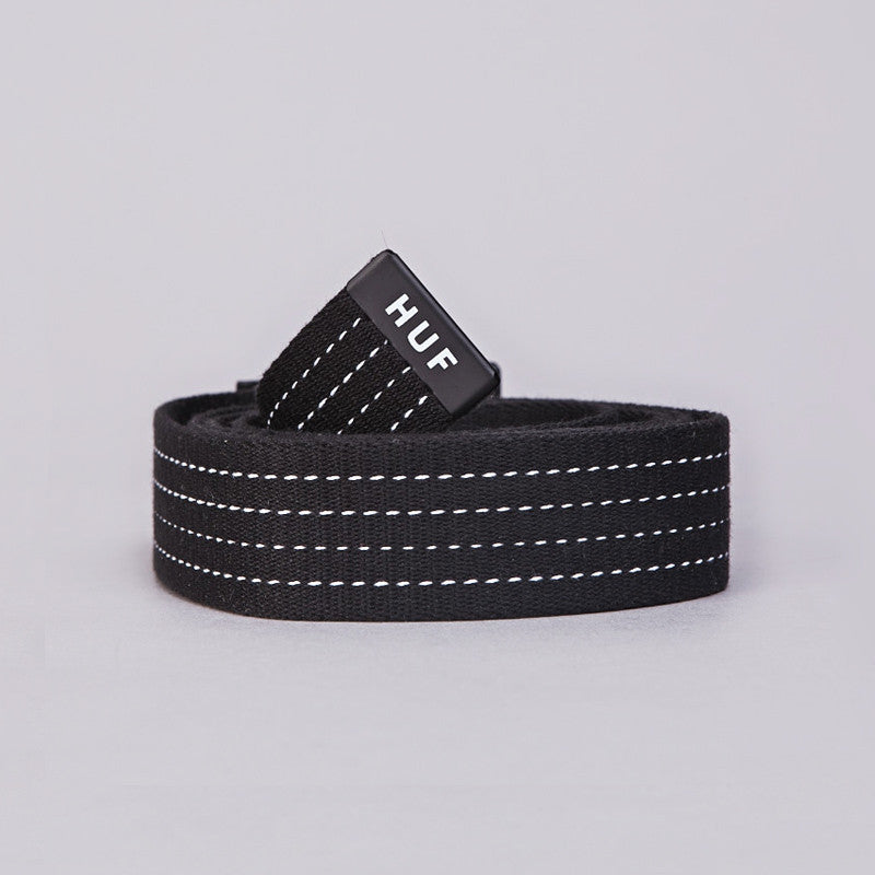 HUF Original Logo Scout Belt Black