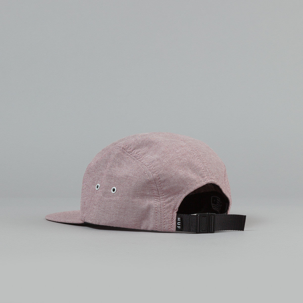 HUF Oxford Box Logo 5 Panel Cap - Wine