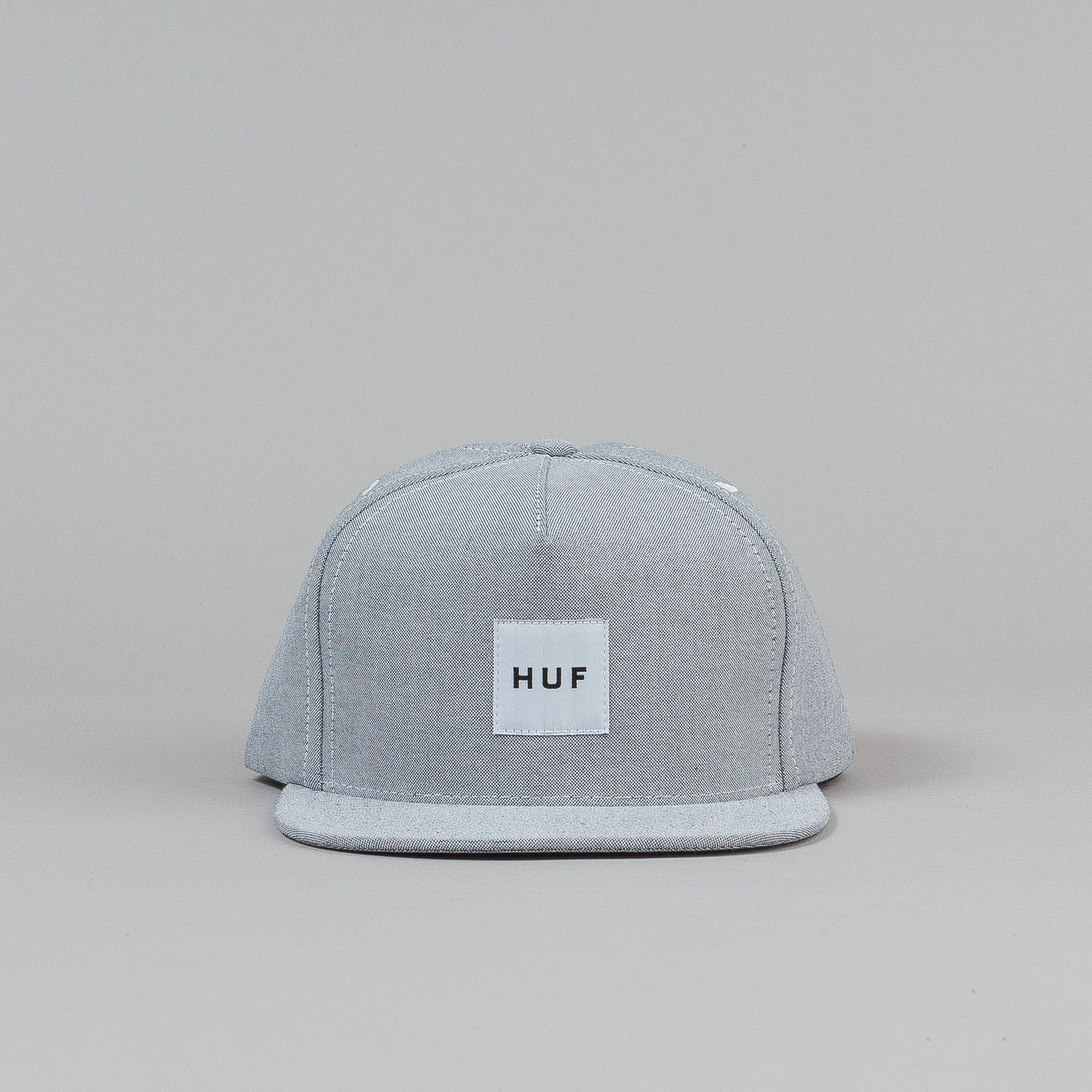HUF Oxford Box Logo Snapback - Black