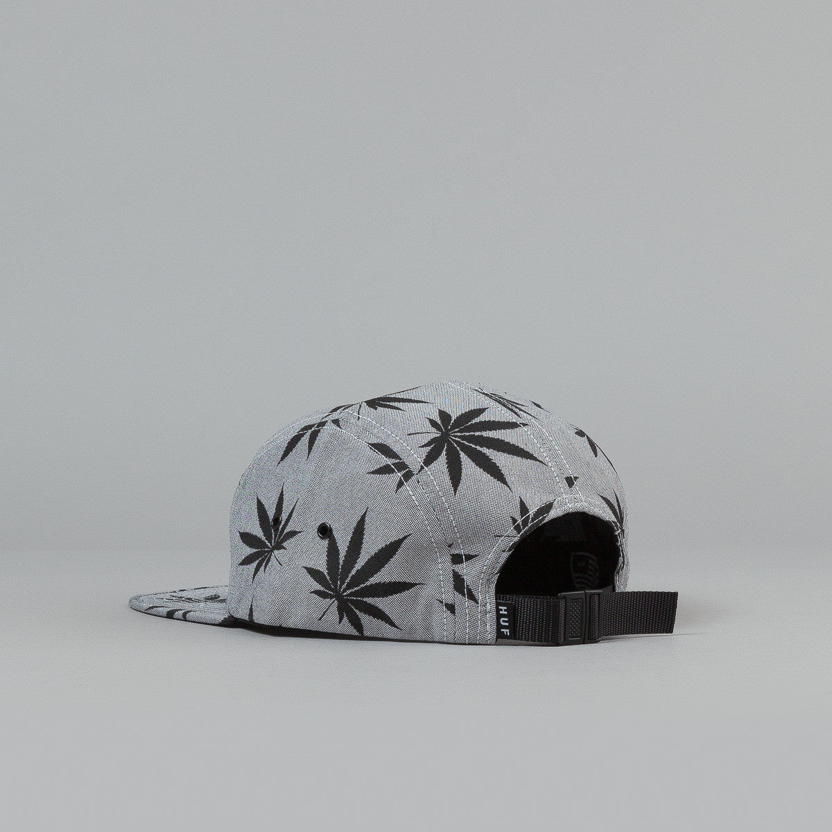 HUF Plantlife Box Logo Volley Cap Black / Grey