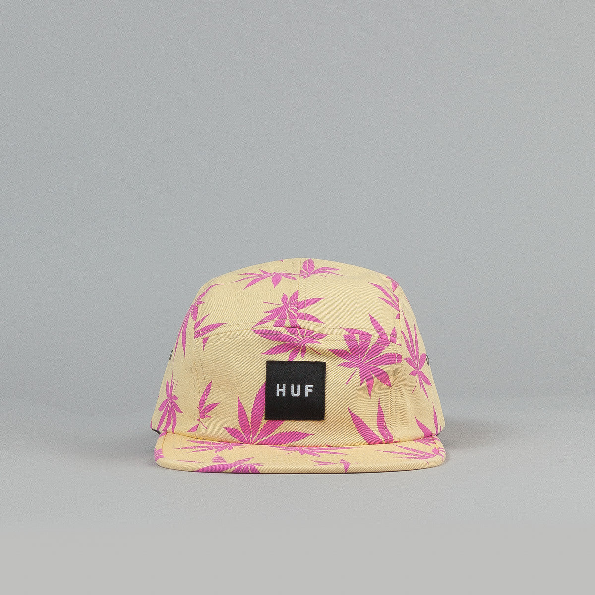 HUF Plantlife Box Logo Volley Cap Maize