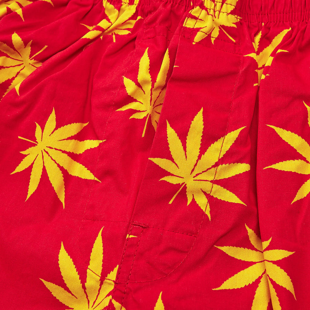 HUF Plantlife Boxers Red / Yellow