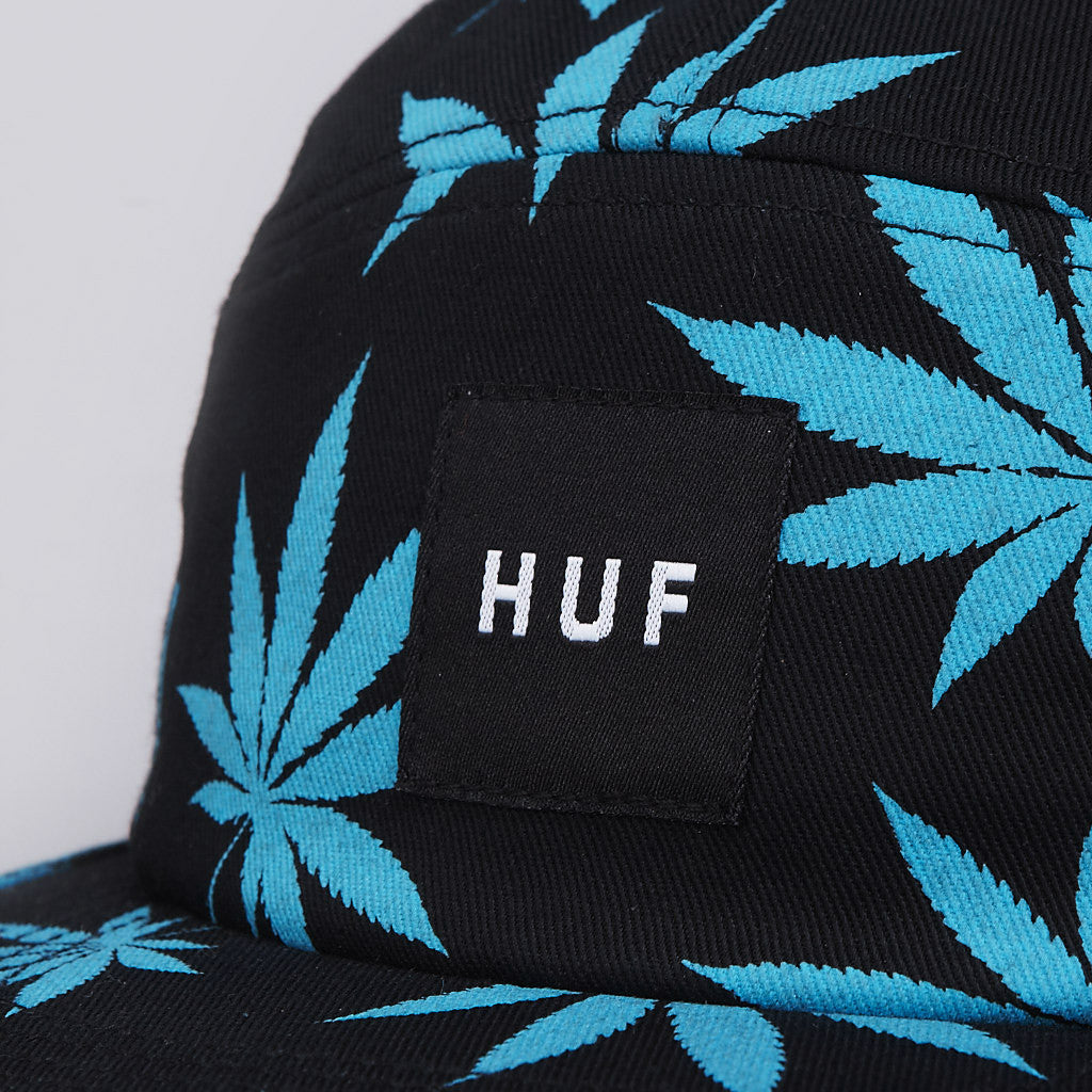 HUF Plantlife Box Logo Volley Cap Black / Blue