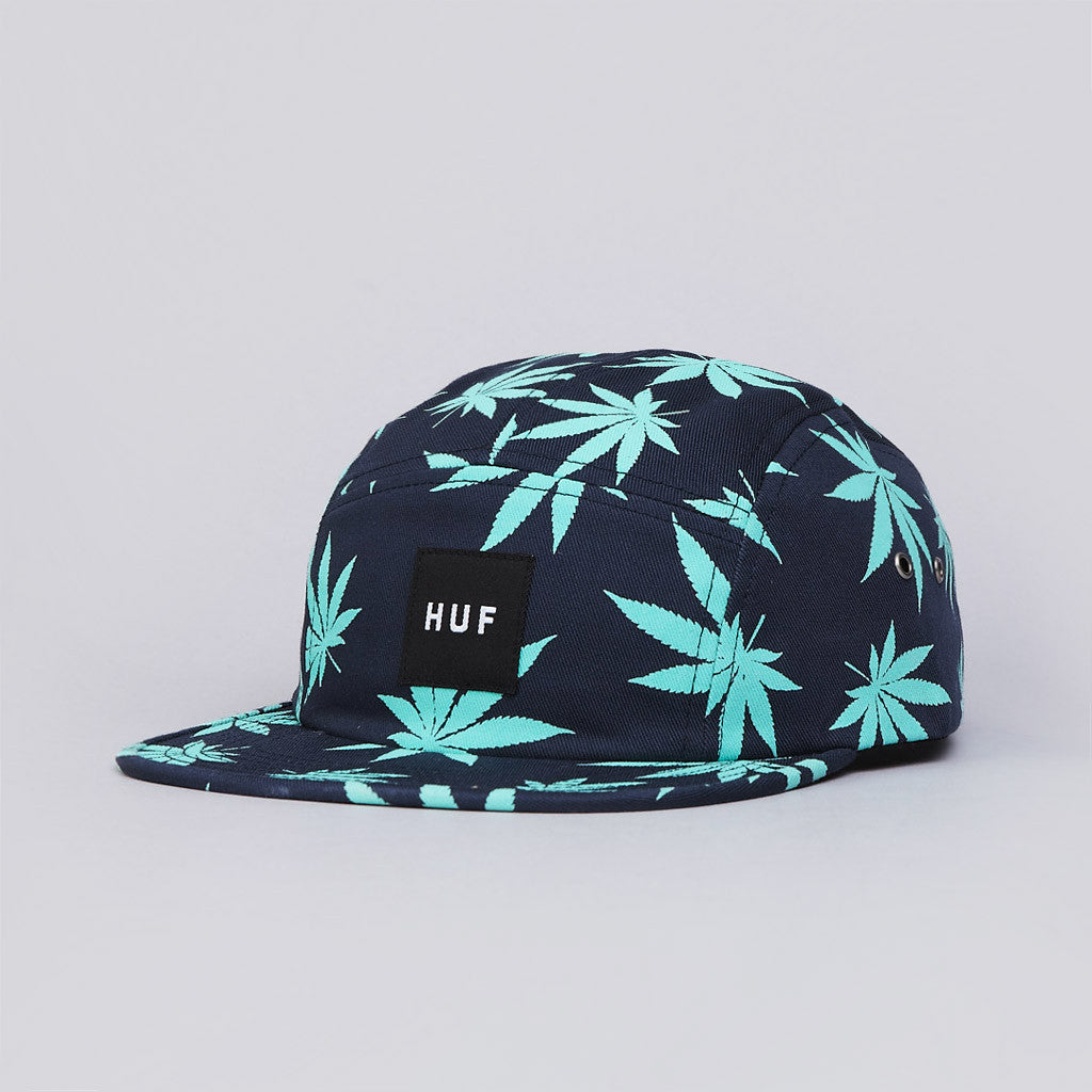 Huf Plantlife Box Logo Volley Cap Navy
