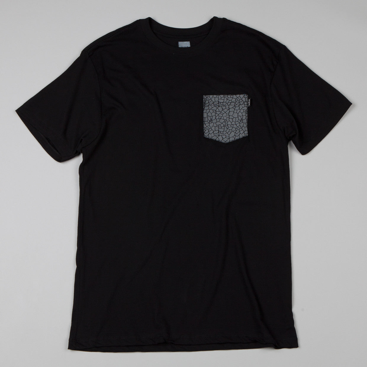 HUF Quake Pocket T-shirt Black