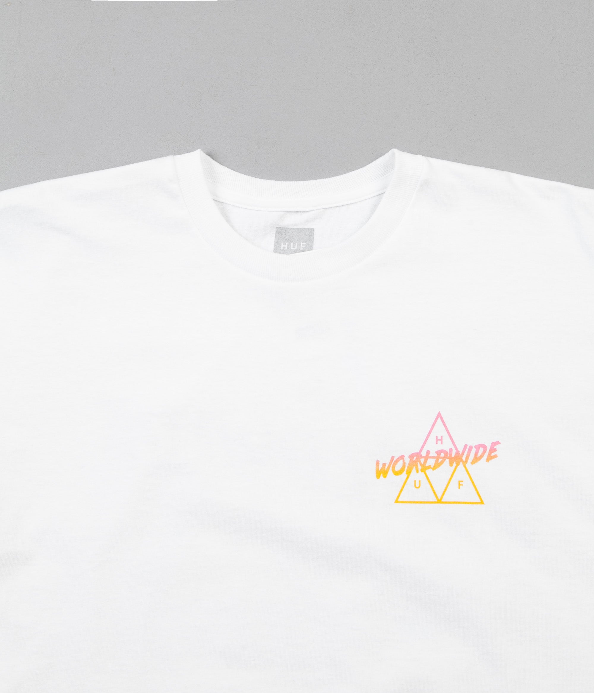 HUF Radical Triple Triangle T-Shirt - White