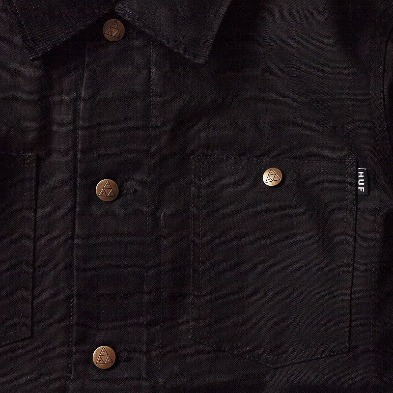 HUF Railroad Jacket Black