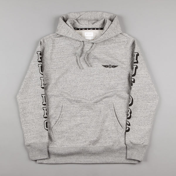 HUF Recruit Hooded Sweatshirt - Grey Heather