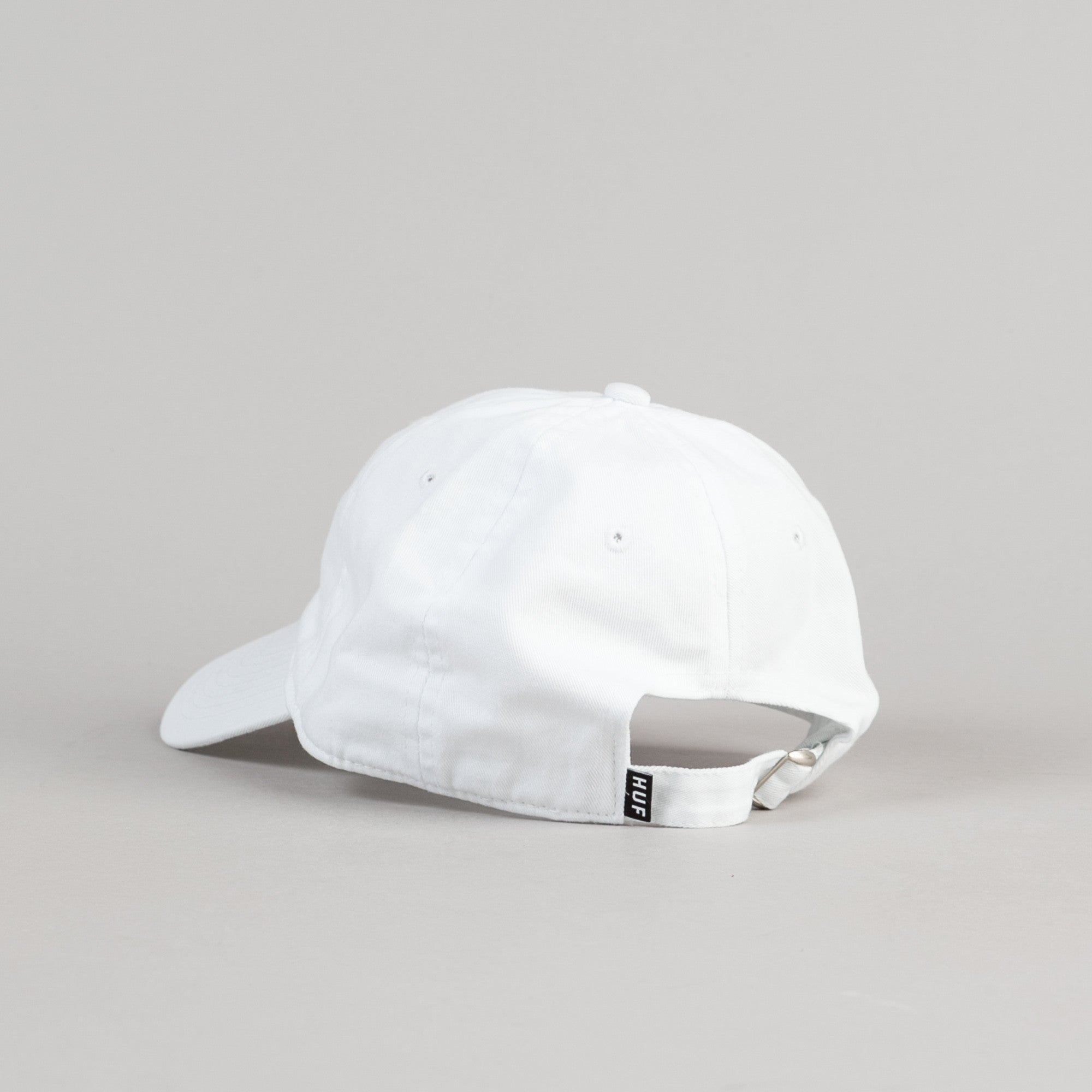 HUF Rosebud Dad Cap - White