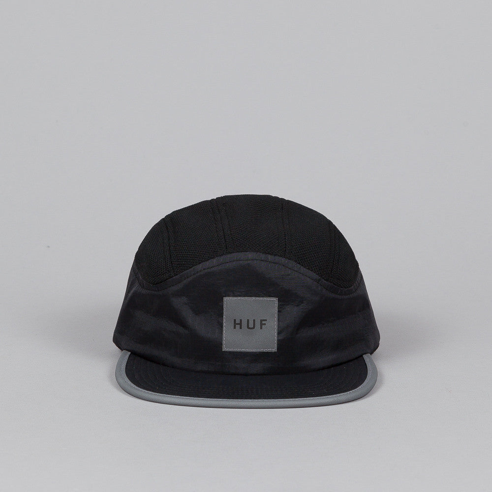 HUF Runner Cap Black