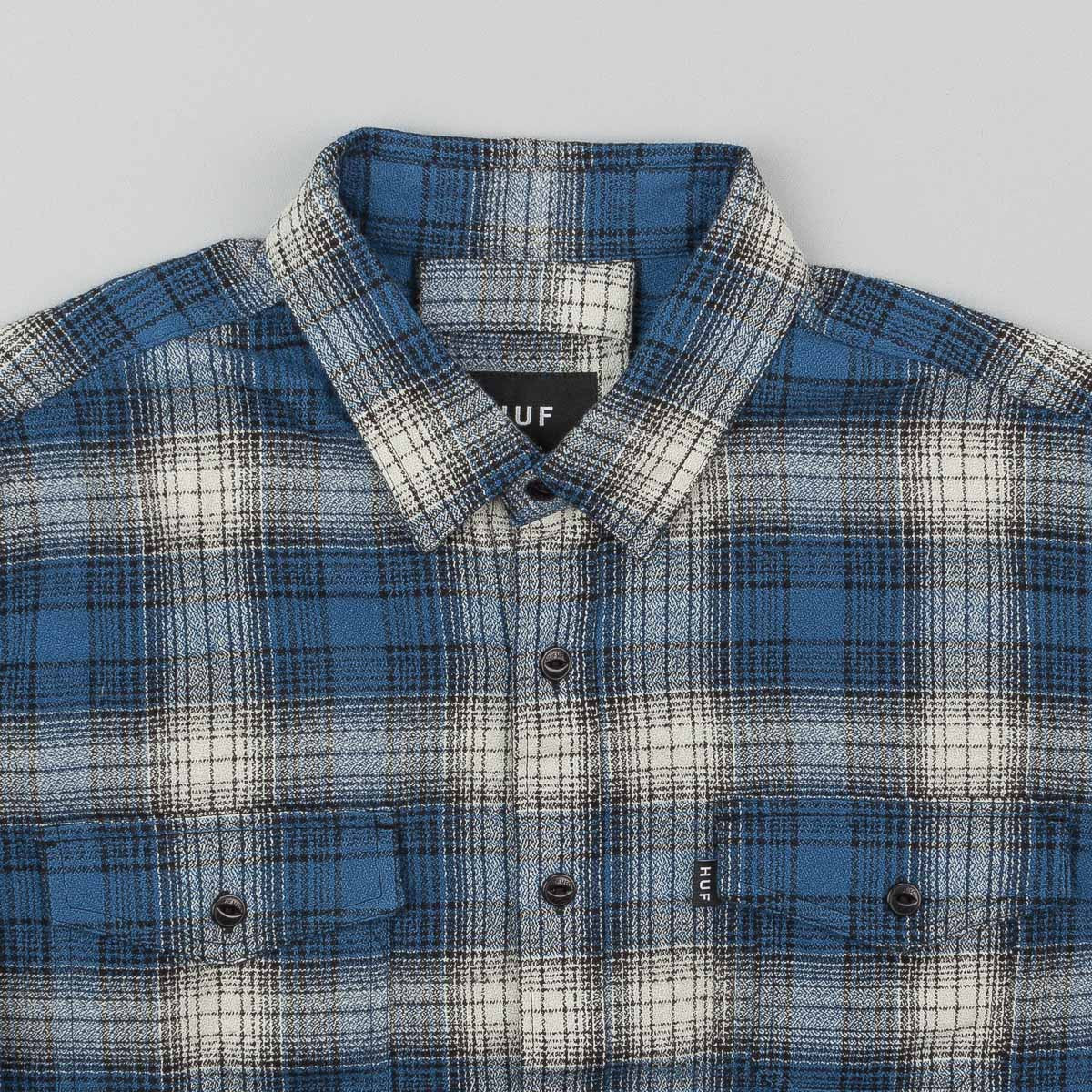 HUF Sayulita Flannel Shirt - Blue
