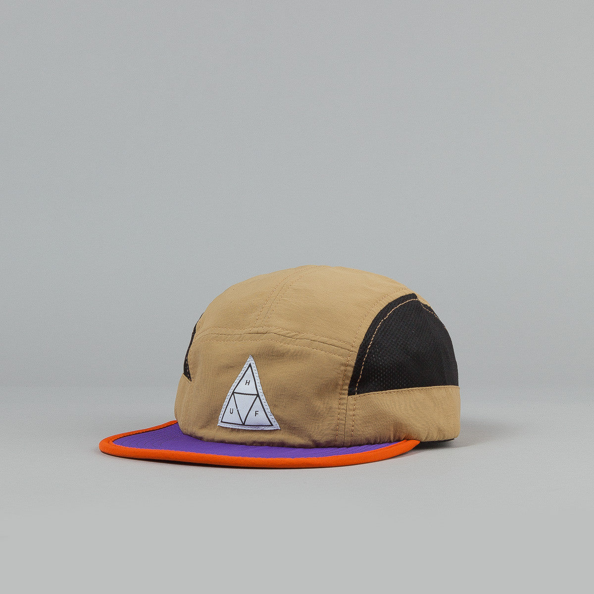Huf Scout 5 Panel Volley Cap Tan