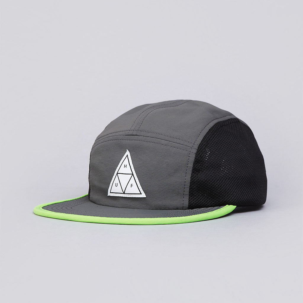 Huf Scout 5 Panel Volley Cap Grey