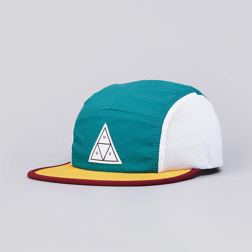 Huf Scout 5 Panel Volley Cap Teal