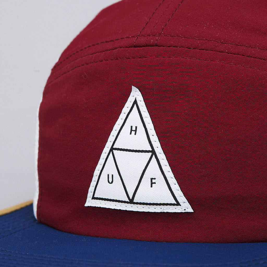 HUF Scout 5 Panel Volley Cap Wine