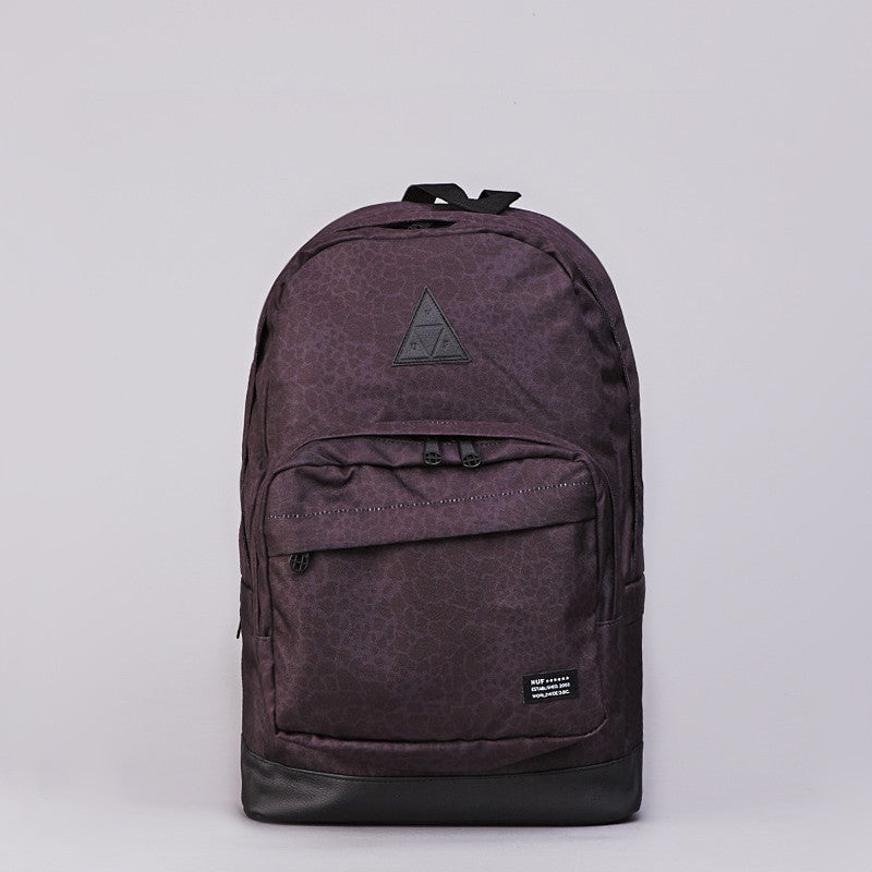 Huf Shell Shock Camo Backpack Black Shell Shock