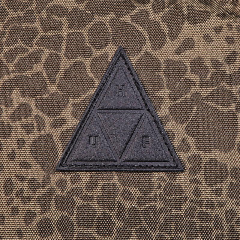 HUF Shell Shock Camo Backpack Olive Shell Shock