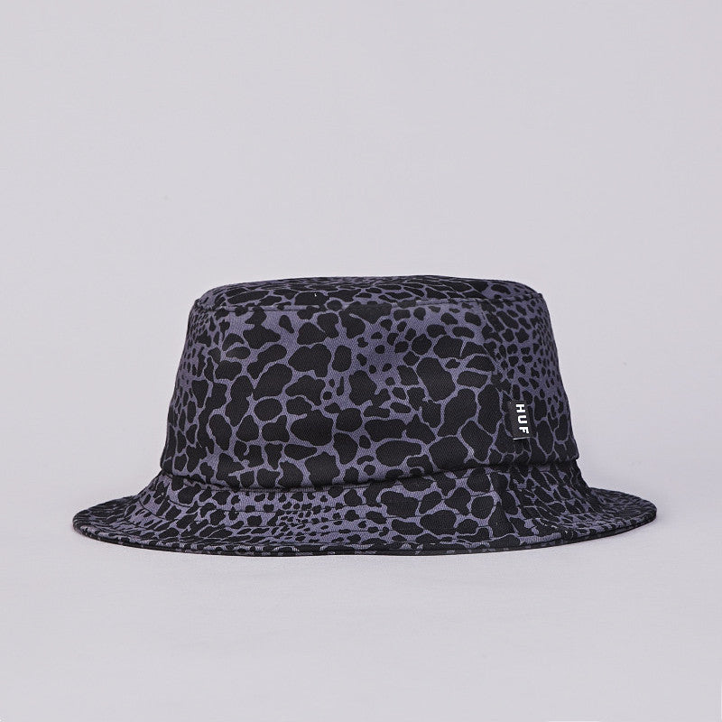 Huf Shell Shock Bucket Hat Black Shell Shock