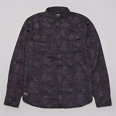 HUF Shell Shock Camo L/S Shirt Black