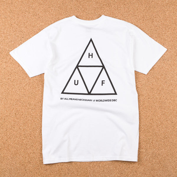 HUF Triple Triangle T-Shirt - White