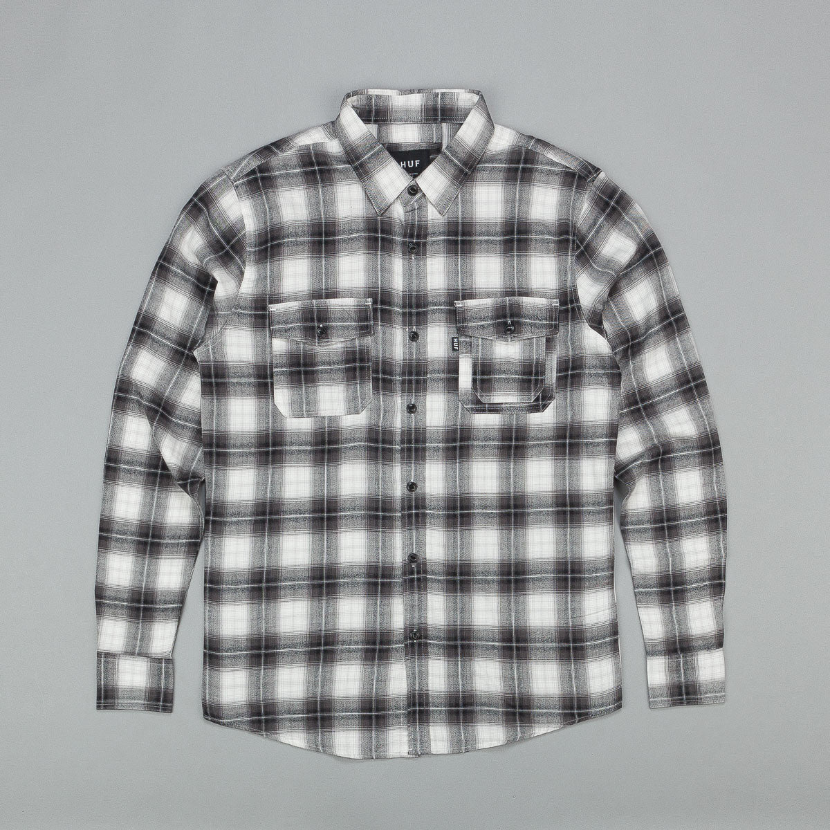 Huf Slauson Plaid Long Sleeve Shirt