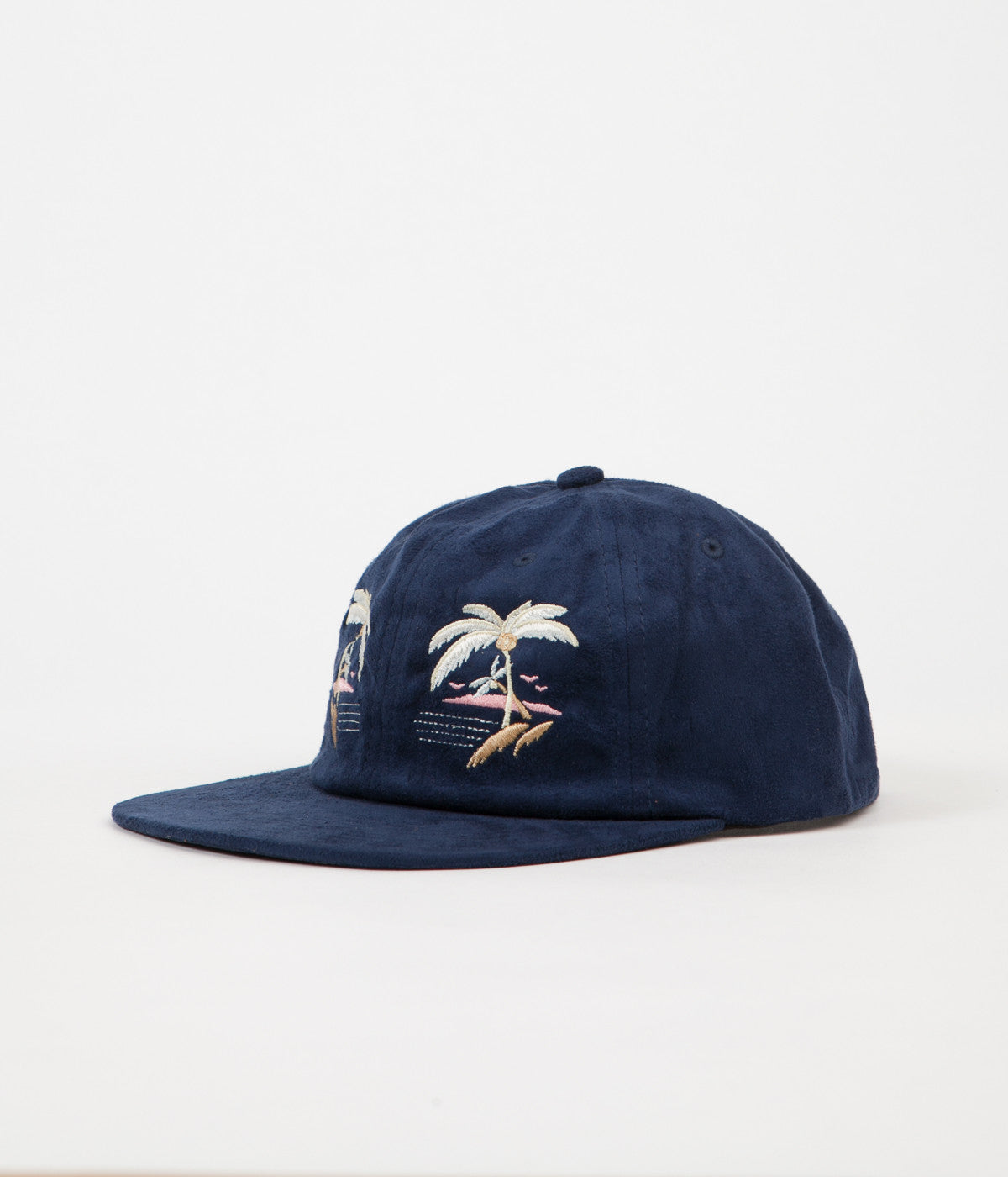 HUF Souvenir 6 Panel Cap - Navy