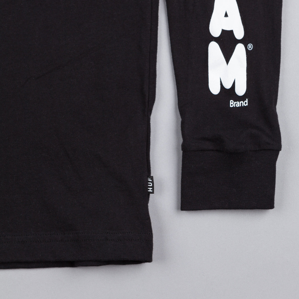 HUF Spam Long Sleeve T-Shirt - Black