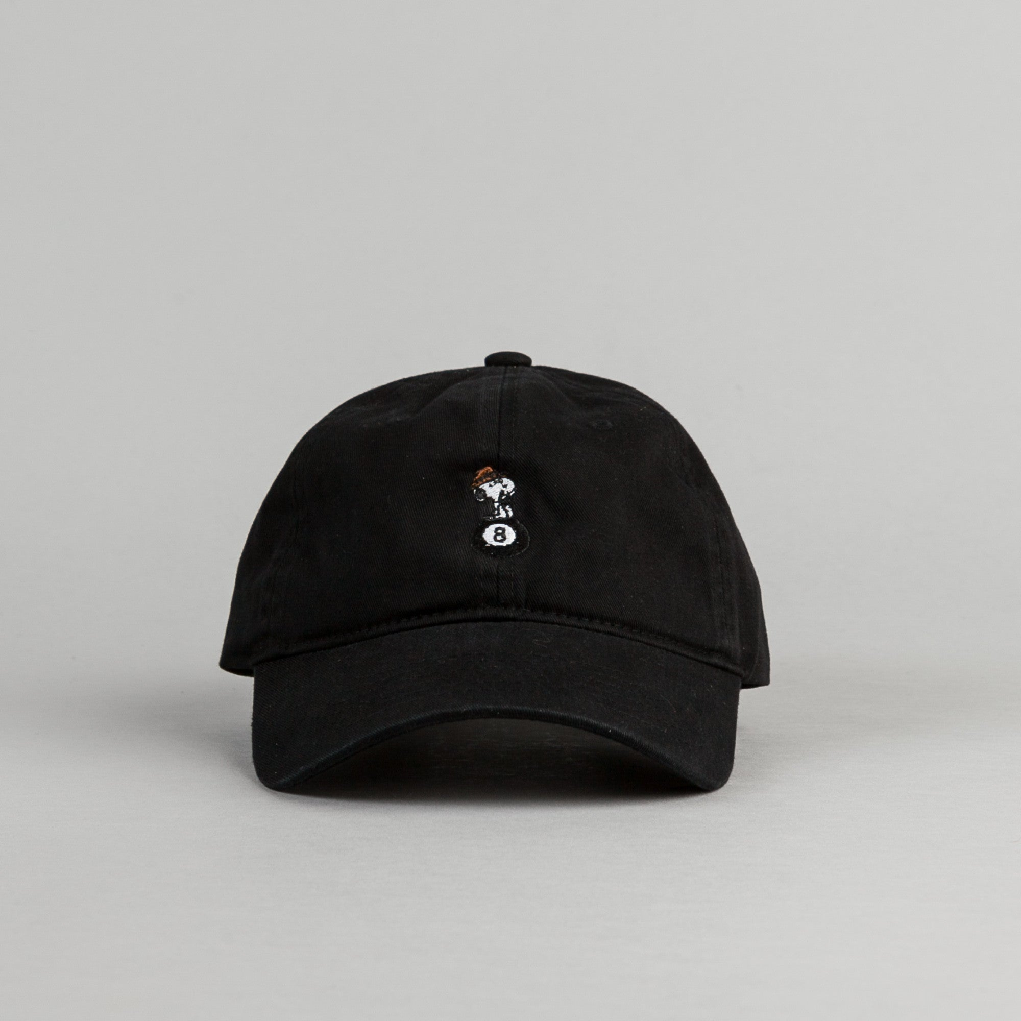 HUF Spike 8 Ball Cap - Black