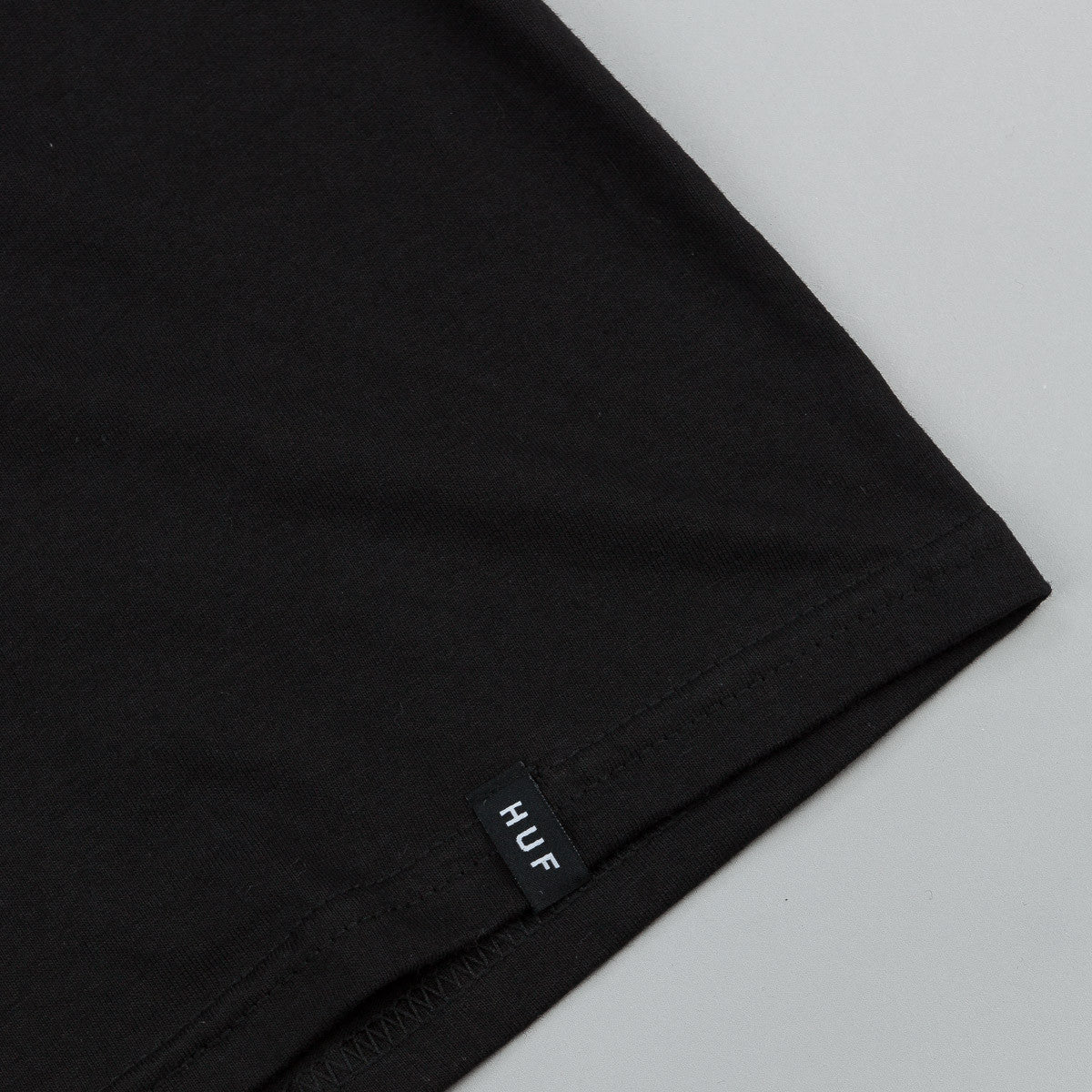 HUF Splatter Box Logo T-Shirt - Black