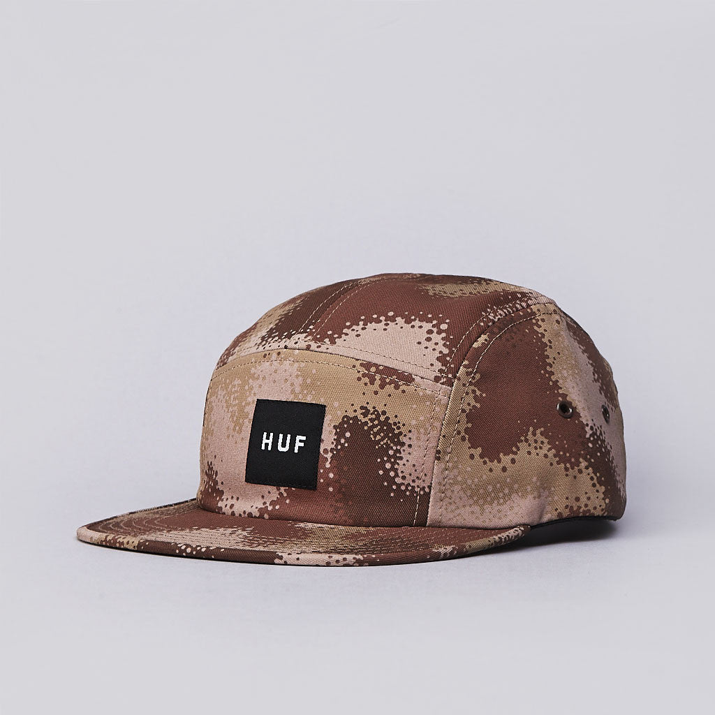 Huf Spray Camo 5 Panel Cap Desert Spray Camo