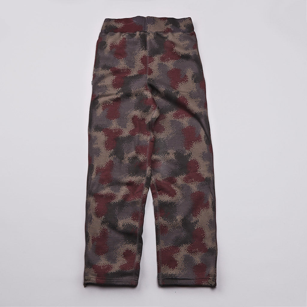 HUF Spray Camo Sweatpants Black Spray Camo