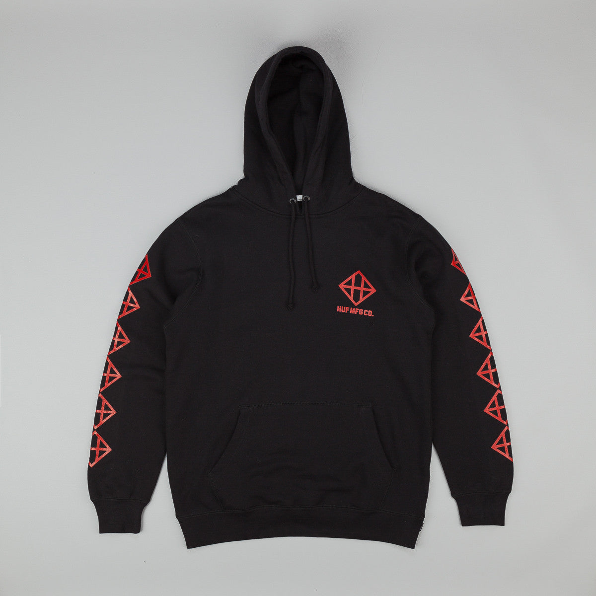 HUF Squared up Pullover Hooded Sweatshirt