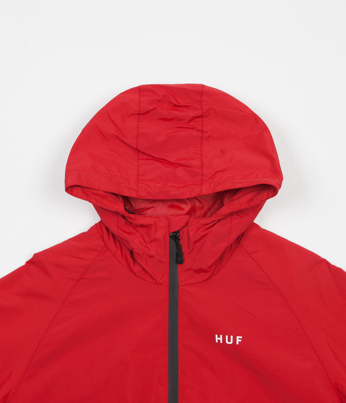 HUF Standard Shell Jacket - Red / Tan