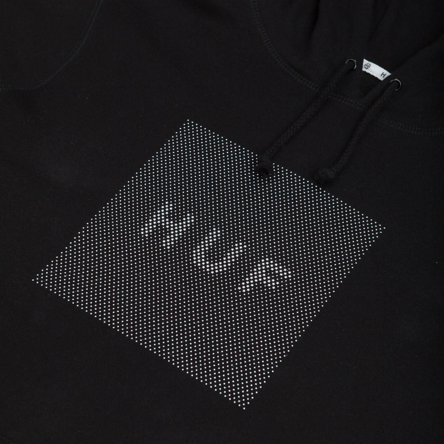 HUF Stars Box Logo Hooded Sweatshirt Black