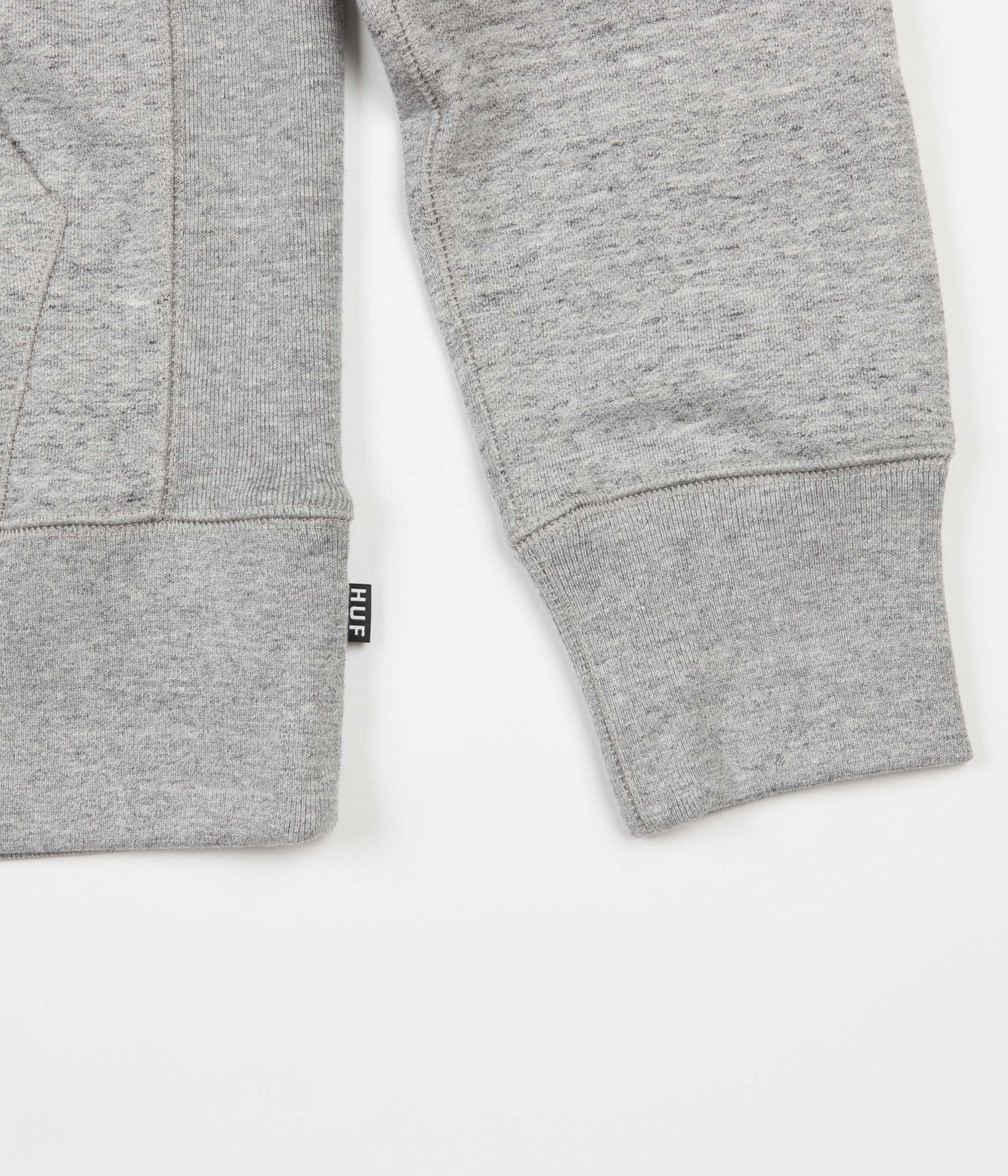 HUF State Pullover Hooded Sweatshirt - Grey Heather