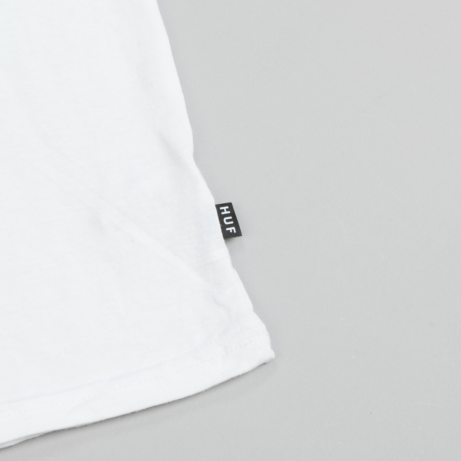 HUF Static Box Logo T Shirt White