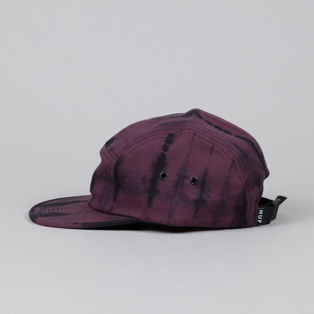 HUF Static Wash Volley Cap Wine