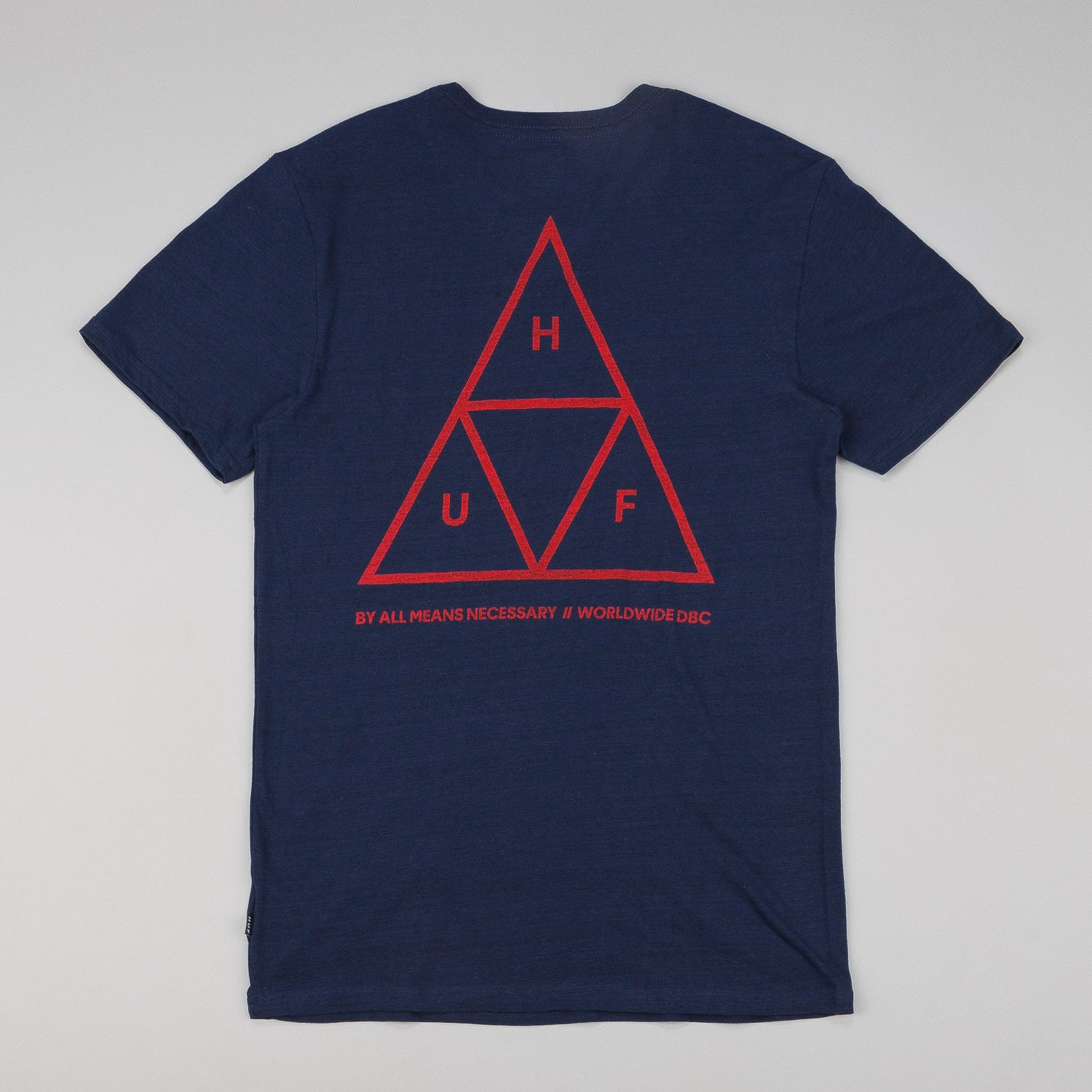 HUF Streaky Wash T-Shirt - Navy
