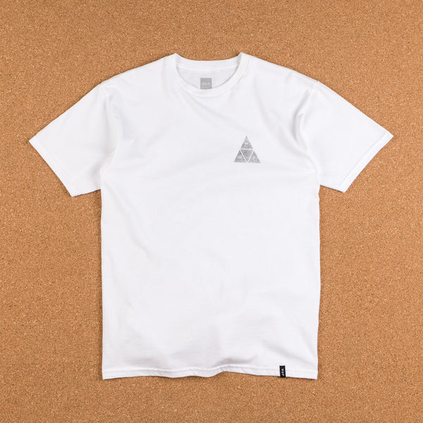 HUF Concrete Triple Triangle T-Shirt - White