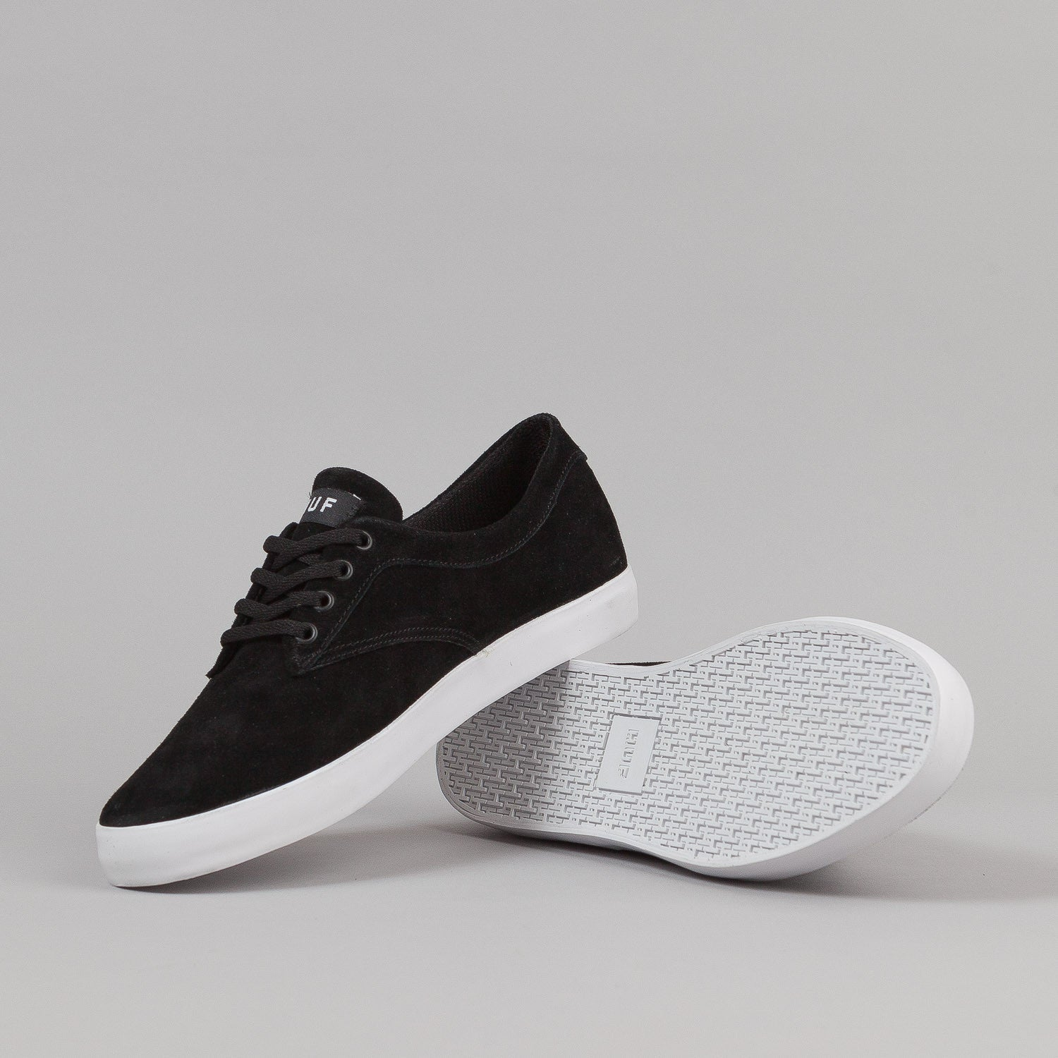 HUF Sutter Shoes - Black / White