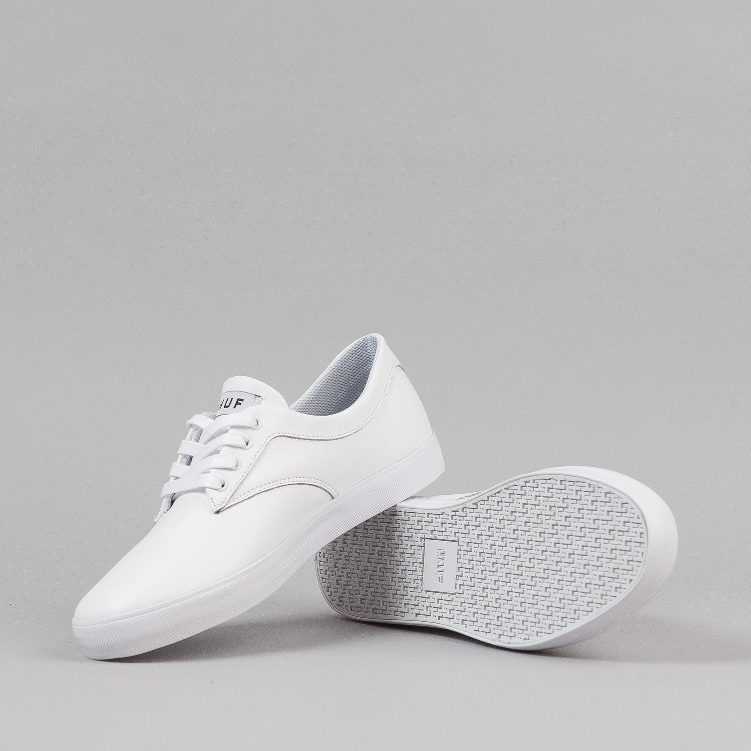 HUF Sutter Shoes - White Premium Leather