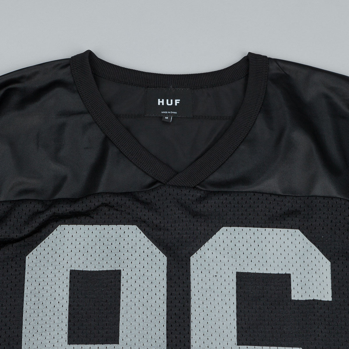 HUF Tailgate Football Jersey - Black