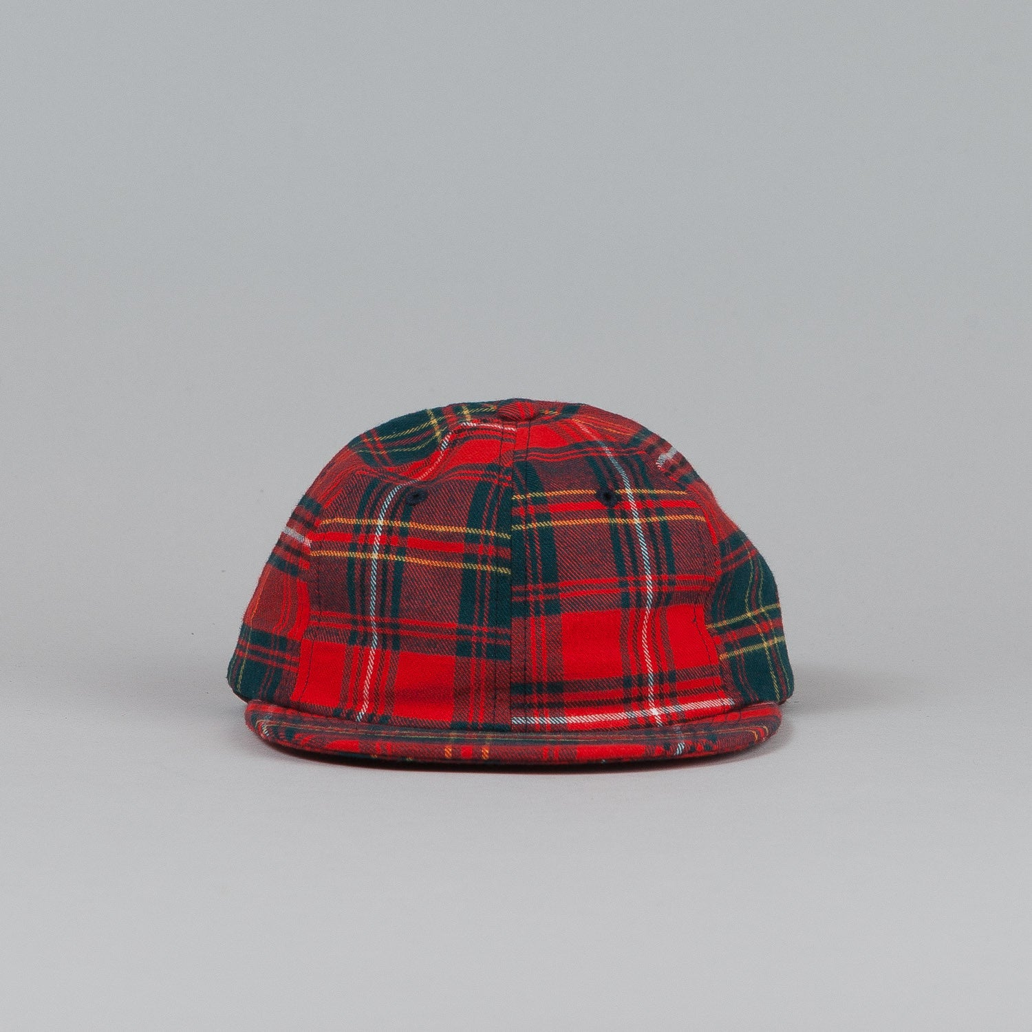 HUF Tartan 6 Panel Cap Red