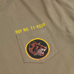 HUF Todd Francis Ratallion Pocket T-Shirt - Military