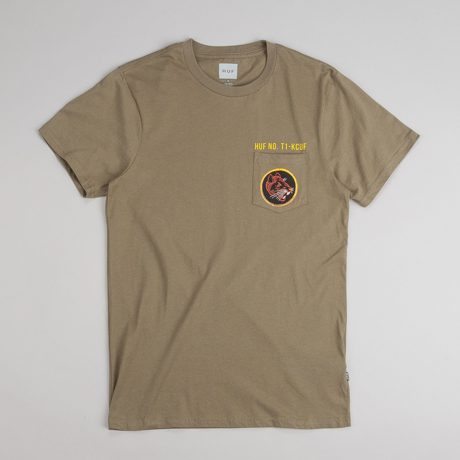Huf Todd Francis Ratallion Pocket T-Shirt